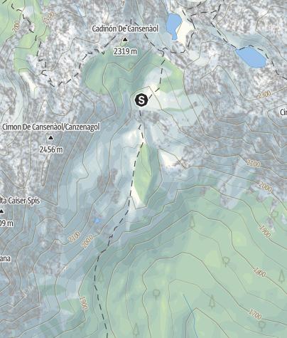 Mappa / Lago di Cece C1