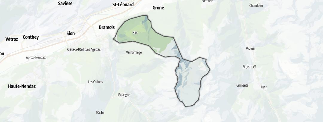 Térkép / Túrázás,  Nax területén