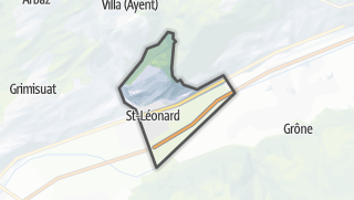 Mapa / Saint-Léonard