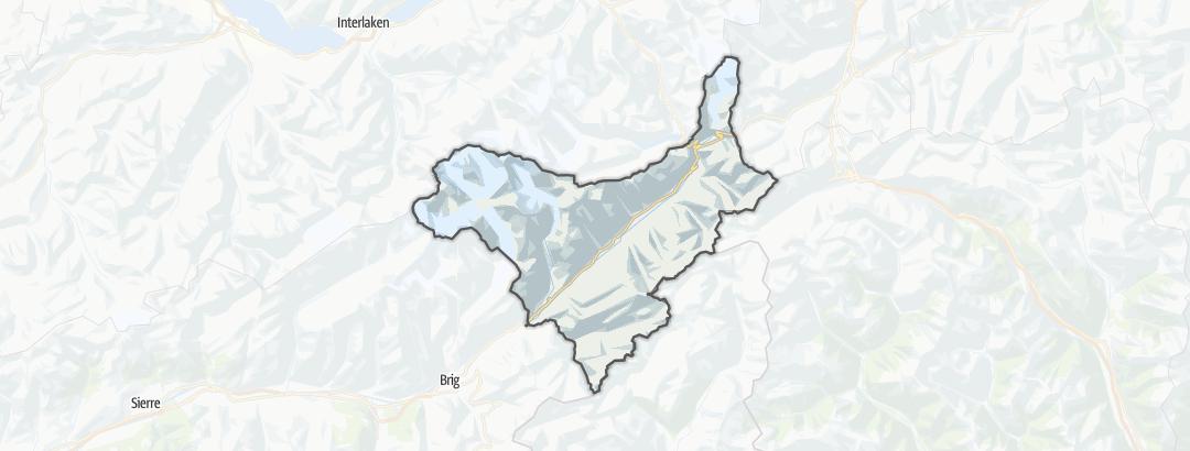 מפה / מסלולי ריצה בגומס