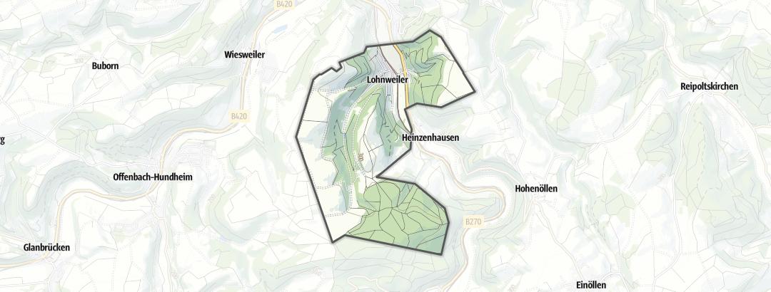 Mapa / Chalé de Montanha em Lohnweiler