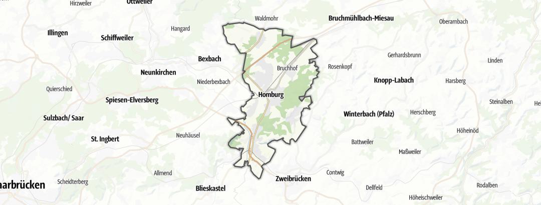 地图 / 在Homburg里的远足