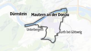 Cartina / Mautern an der Donau