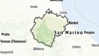 Карта / Forlì-Cesena