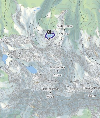 Mappa / Lago Moregna C2