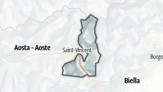 Karte / Monte Rosa
