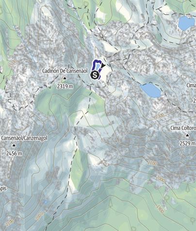 Karte / Lago delle Trote C3