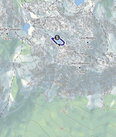 Mappa / Lago Brutto C4