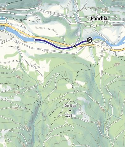 Mappa / Torrente Avisio ZT