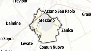 Hartă / Stezzano