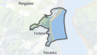 Hartă / Riva di Solto