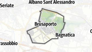 Hartă / Brusaporto