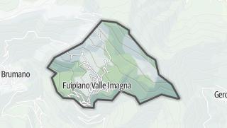 Hartă / Fuipiano Valle Imagna