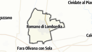 Hartă / Romano di Lombardia