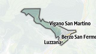 Hartă / Borgo di Terzo