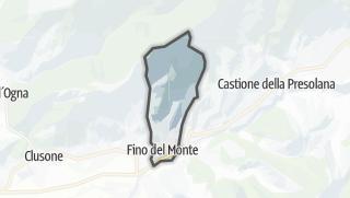 Hartă / Fino del Monte