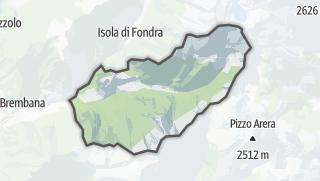 Hartă / Roncobello
