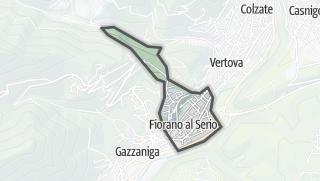 Hartă / Fiorano al Serio