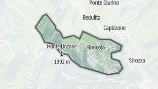 Hartă / Roncola