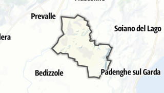 מפה / Calvagese della Riviera