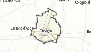 Hartă / Treviglio