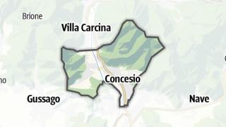 Karte / Concesio