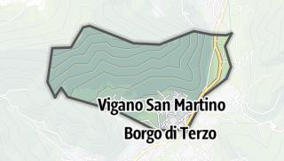 Hartă / Vigano San Martino