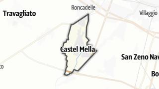 מפה / Castel Mella