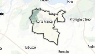 Karte / Corte Franca