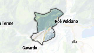 מפה / Villa sul Clisi