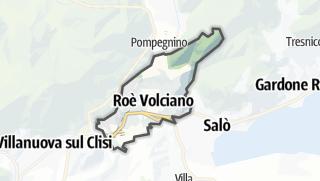 Karte / Roè Volciano