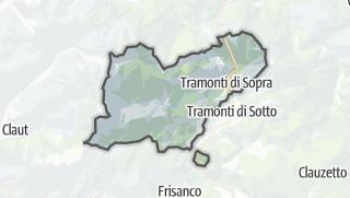 מפה / Tramonti di Sopra