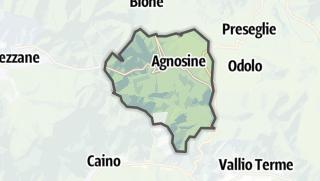 Karte / Agnosine