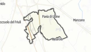 מפה / Pavia di Udine
