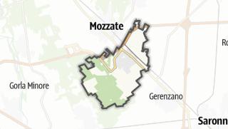 Mapa / Cislago