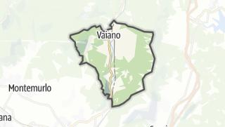 Карта / Vaiano