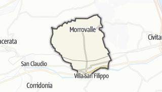 Hartă / Morrovalle
