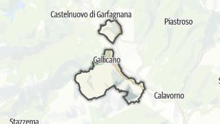 地图 / Gallicano