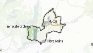 Hartă / Muccia