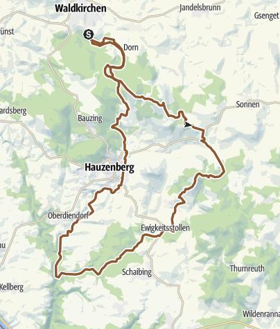 Karte / 2 Gipfel 2 Täler