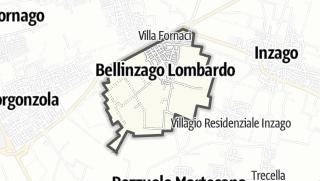 Mapa / Bellinzago Lombardo