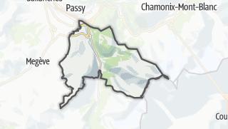 Karte / Saint-Gervais-les-Bains