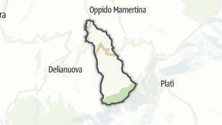 Mapa / Santa Cristina d'Aspromonte