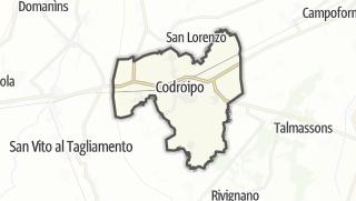 מפה / Codroipo