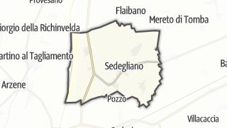 מפה / Sedegliano