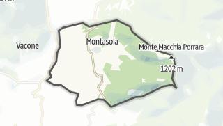 Mapa / Montasola