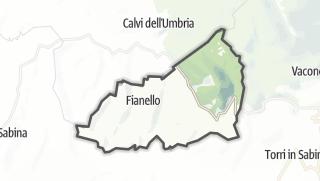 Mapa / Montebuono