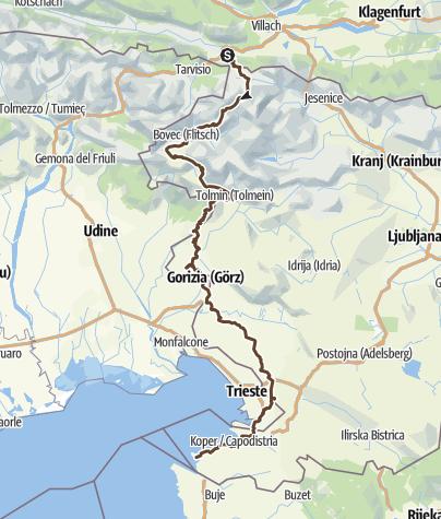 Map / Trans Slovenia