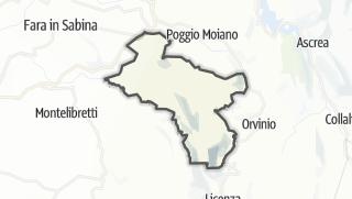 Mapa / Scandriglia