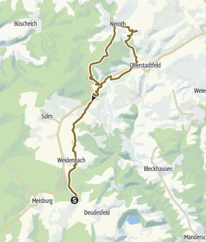 Map / Windrosenranch Wallenborn Neroth u zurück